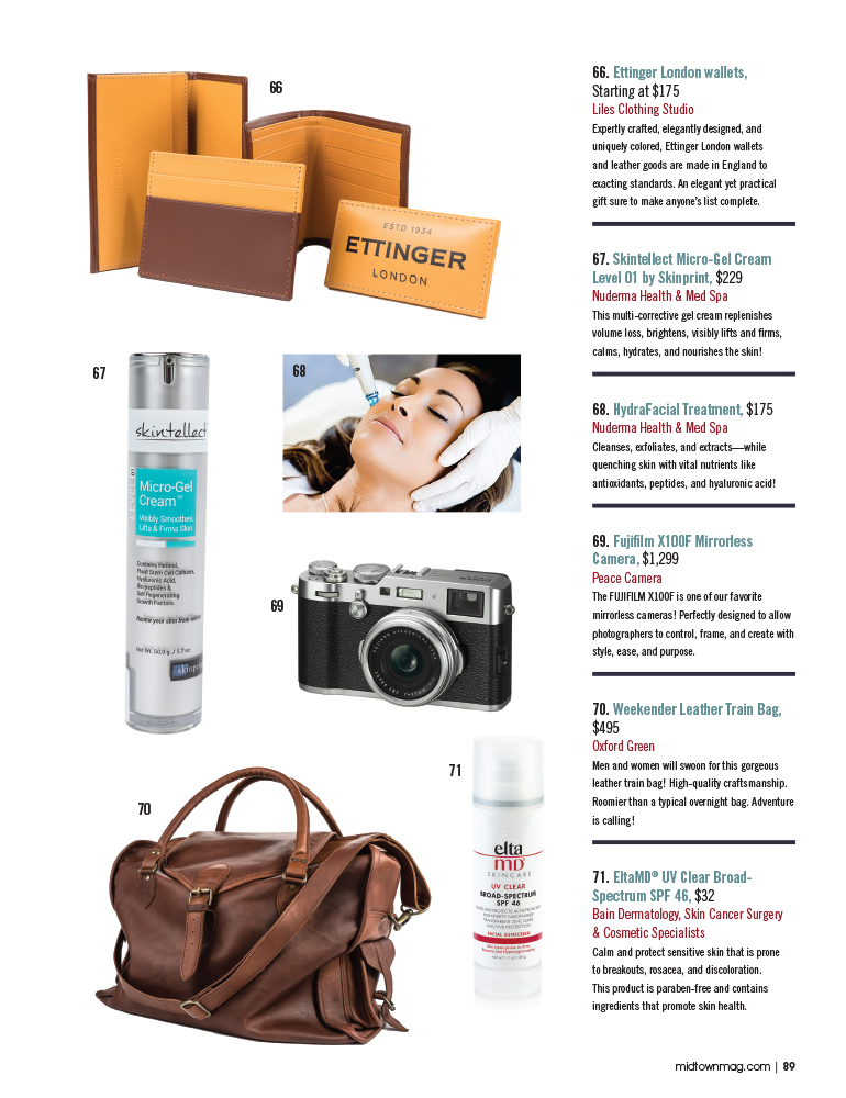 68d1b84d8a Midtown Magazine2017 Holiday Gift Guide