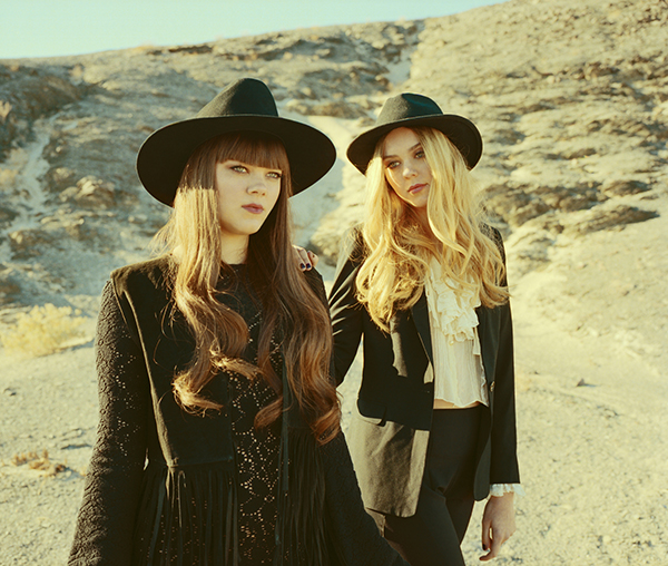 Swedish sister-duo First Aid Kit will be at the NCMA on Friday, June 8th. photo by Neil Krug (shore fire media).