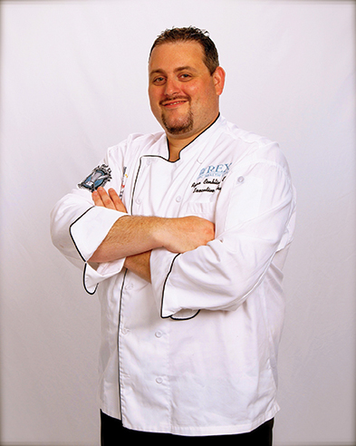 Ryan Conklin, executive chef at UNC REX