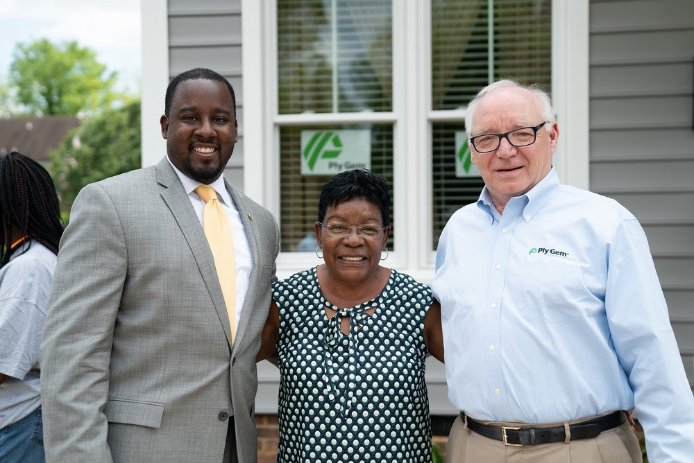 Corey Branch (Left), Linda Williams (Center), Gary E. Robinette (Right)