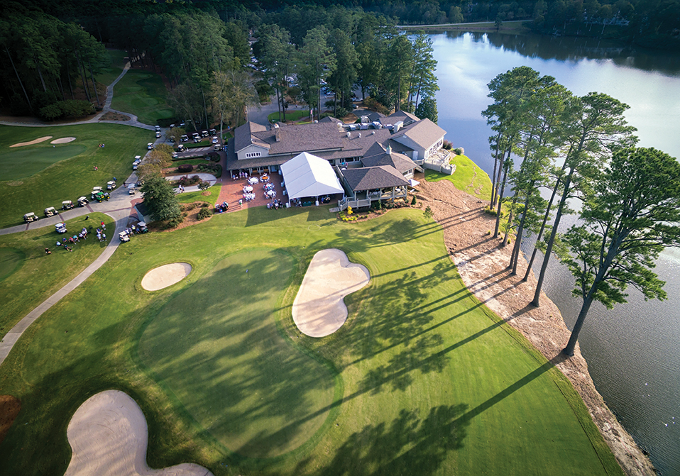 Last year, MacGregor Downs Country Club celebrated its 50th anniversary as Cary's first private country club. With a Willard Byrd–designed championship course, it remains the town's oldest home for golf and is a favorite of the North Carolina Golf Panel, which regularly rates it as one of the best golf experiences in the Triangle.