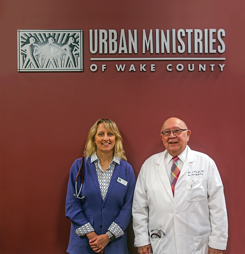 medical director Dr. Elizabeth Campbell and Dr. John Emery