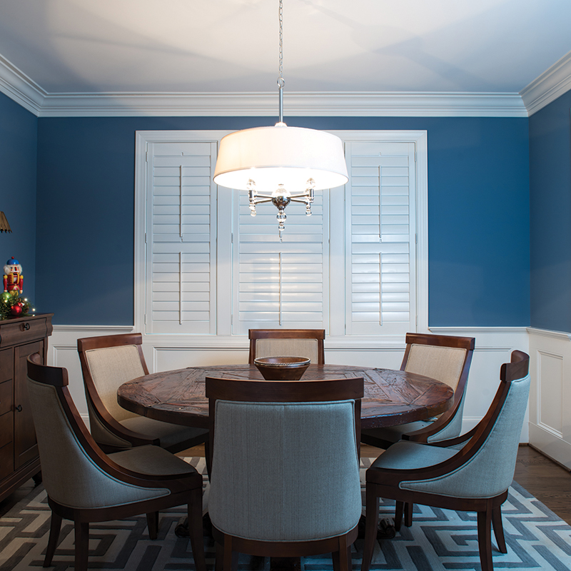 Custom wood plantation shutters, prices vary;  Southern Accent Shutters & Blinds ; 5684 Wilsons Mills Rd, Clayton, NC 27520; SouthernAccentShutters.com; 919.934.4050 (photo by joe reale)