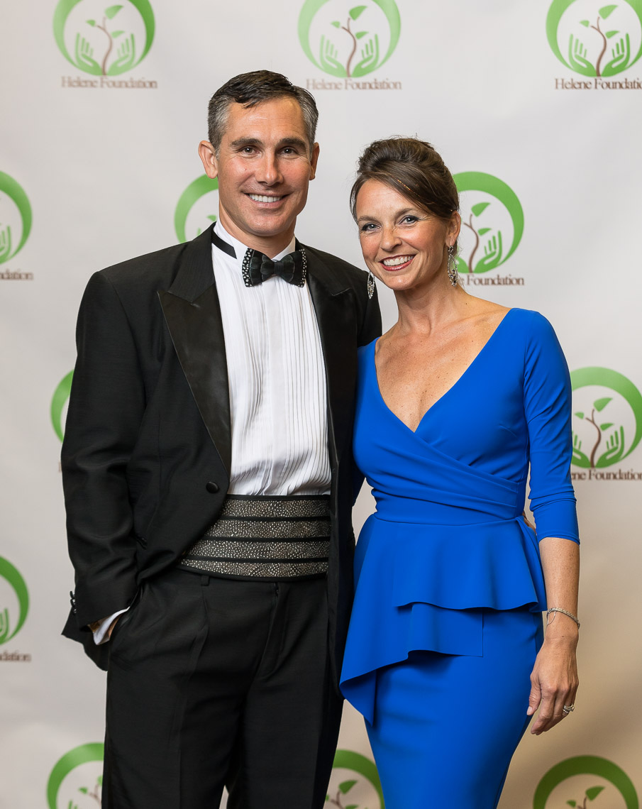 dan and tracy davidian, founders of the helene foundation. photo by davies photography.