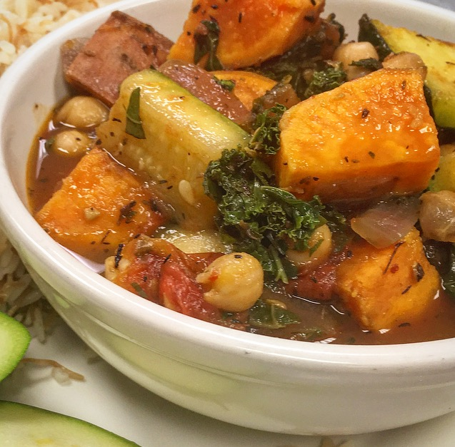 Sassool  Sweet Potato Kale Stew