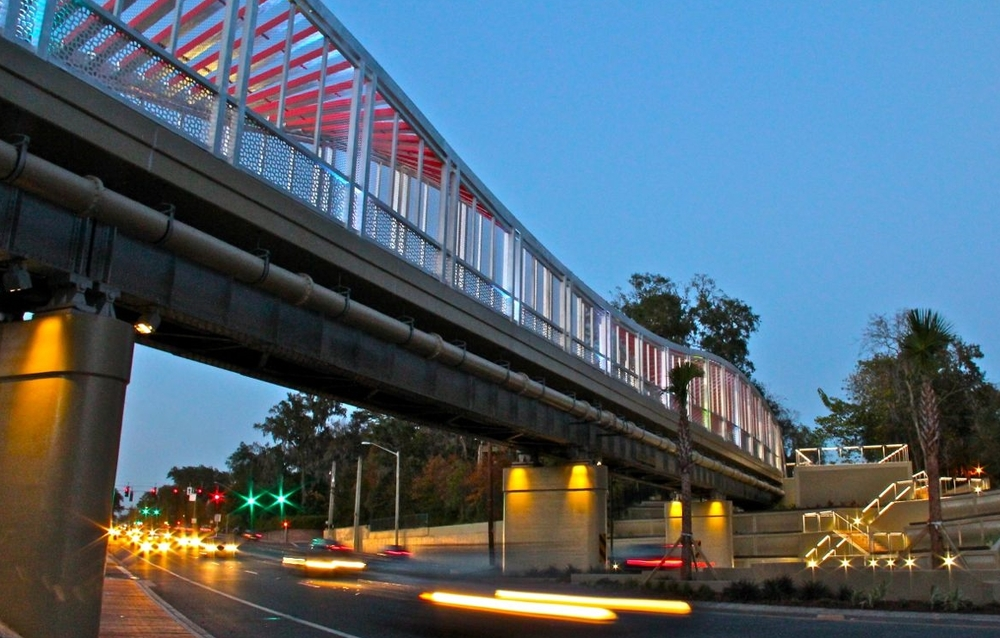 iconic Helyx bridge connecting UF Health hospitals and Downtown Gainesville.jpg