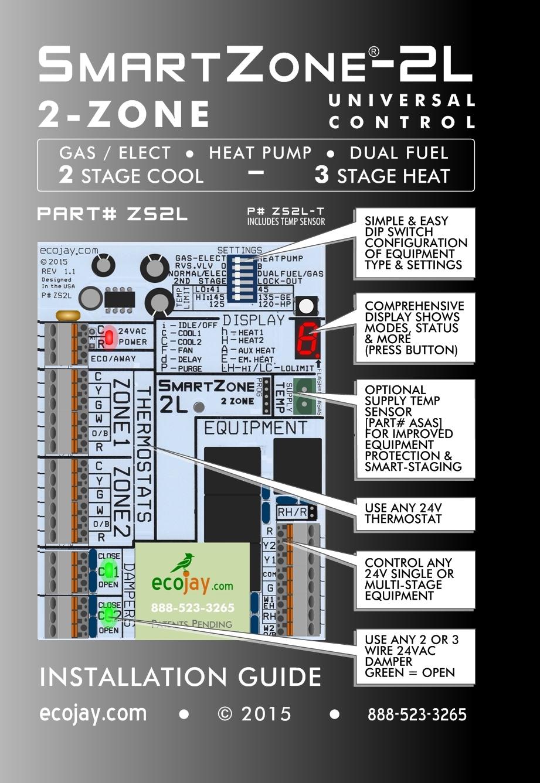 Ecojay SmartZone Zone Control Lite