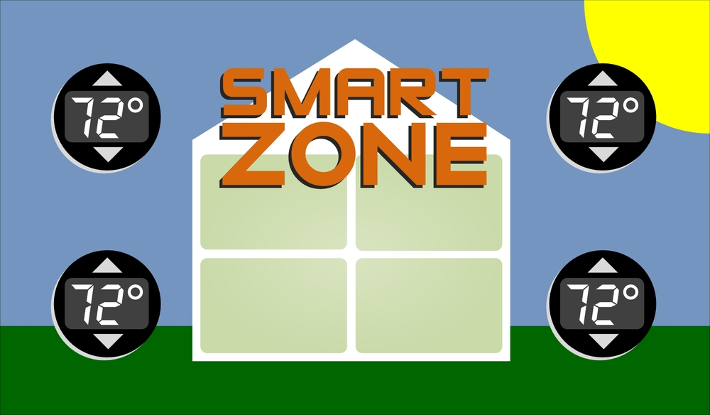 With SmartZone, all areas can be comfortable even in the HOT summer!