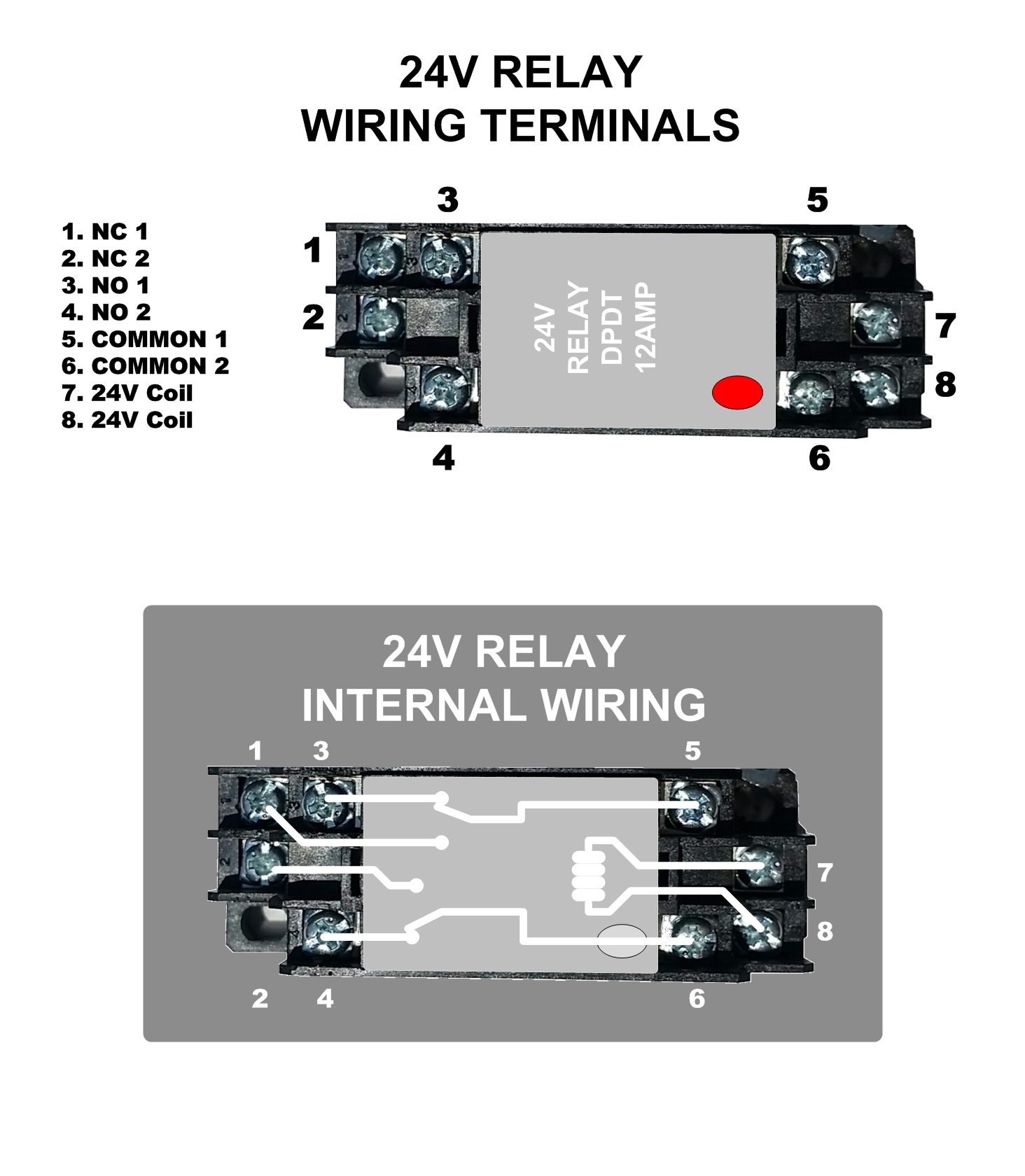 Zone Control 24v Relay Dpdt Wiring