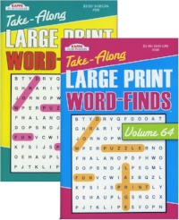 Large Print WOrd Search - Smaller Books