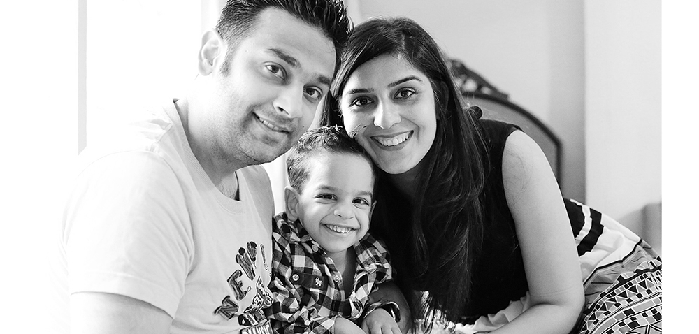 nishka family black and white copy