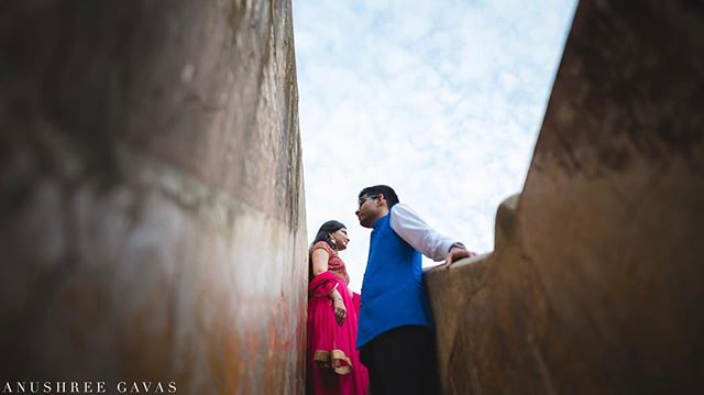 Sneha & Anirudh, Jaipur  Got to spend some time with this before ahead of their November wedding.  More pictures on my Instagram Stories. Shot for @theweddingsalad  #anushreegavas #theweddingsalad #candidphotography #coupleportraits #lookslikefilm #junebugweddings #jaipur #rajasthan #candidwedding #weddingphotography #photooftheday  #indianwedding #instawedding #couplegoals #karnatakatourismboard  #coupleportrait #destinationwedding  #destinationweddingphotographer #asianwedding  #indianbride