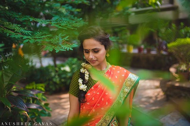 Saloni & Prasad, Alibaug  Saloni dressed in this beautiful Maharashtrian traditional nine yard saree for her Puja.  Shot for @theweddingsalad  #anushreegavas #theweddingsalad #candidphotography #coupleportraits #lookslikefilm #junebugweddings #mumbaiweddinhphotographer #punephotographer #rajasthan #candidwedding #weddingphotography #photooftheday  #indianwedding #instawedding #couplegoals #iamnikon #nikon #coupleportrait #destinationwedding  #destinationweddingphotographer #asianwedding  #indianbride @nikonindiaofficial @sigmaphotoindia @punephotographylovers @photographersatpune @maharashtrian_wedding