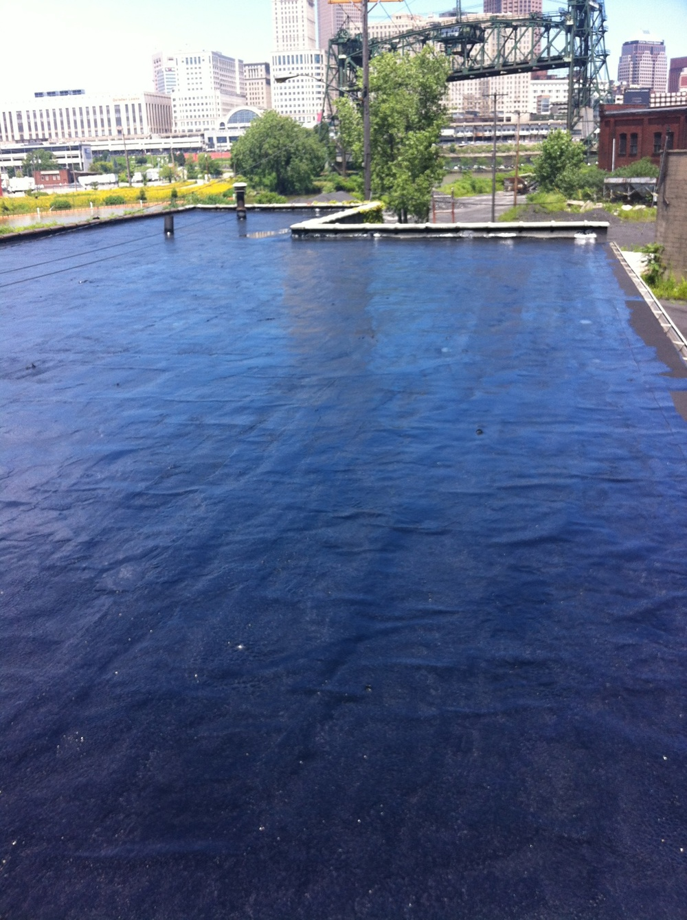 Asphalt Coating at Mid-Continent Coke in Cleveland