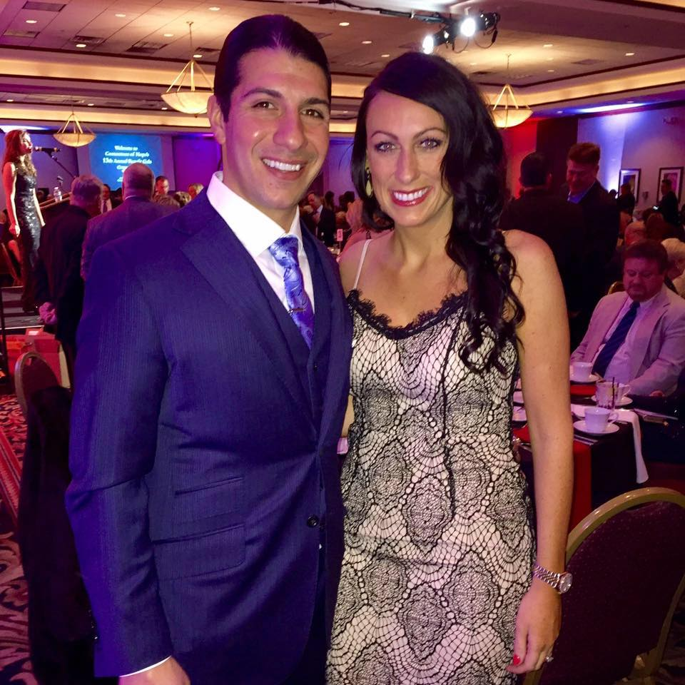 Southwest Companies President Michael Tomasone with wife Abigail at the 2016 Cornerstone of Hope Annual Benefit