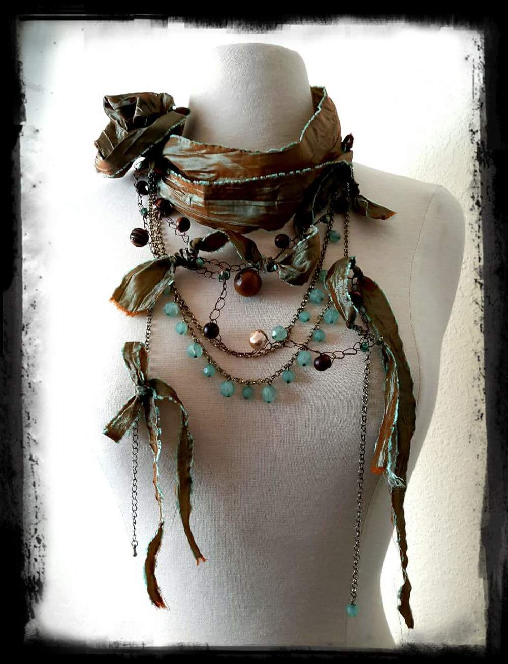 Handmade vintage necklace