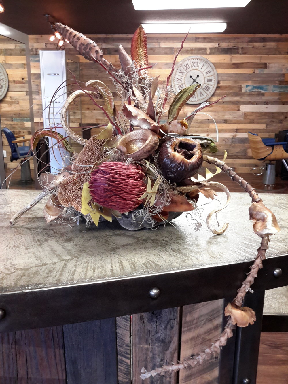 Floral design for Cranston and Co Grass Valley