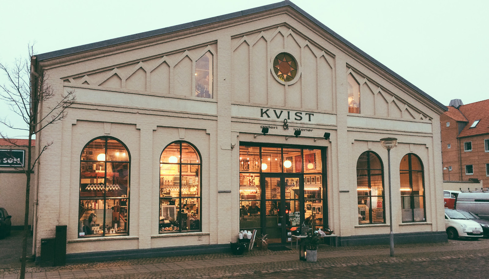 Velkommen hos Kvist Galleri & Interiør