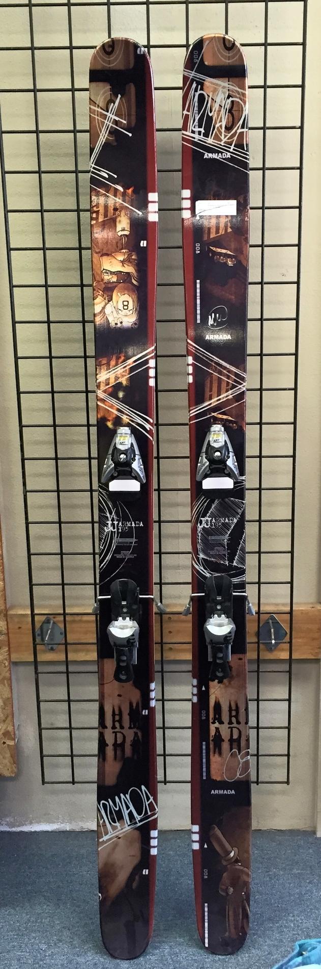 Armada Ski 195 + Salomon Bindings - $479.20