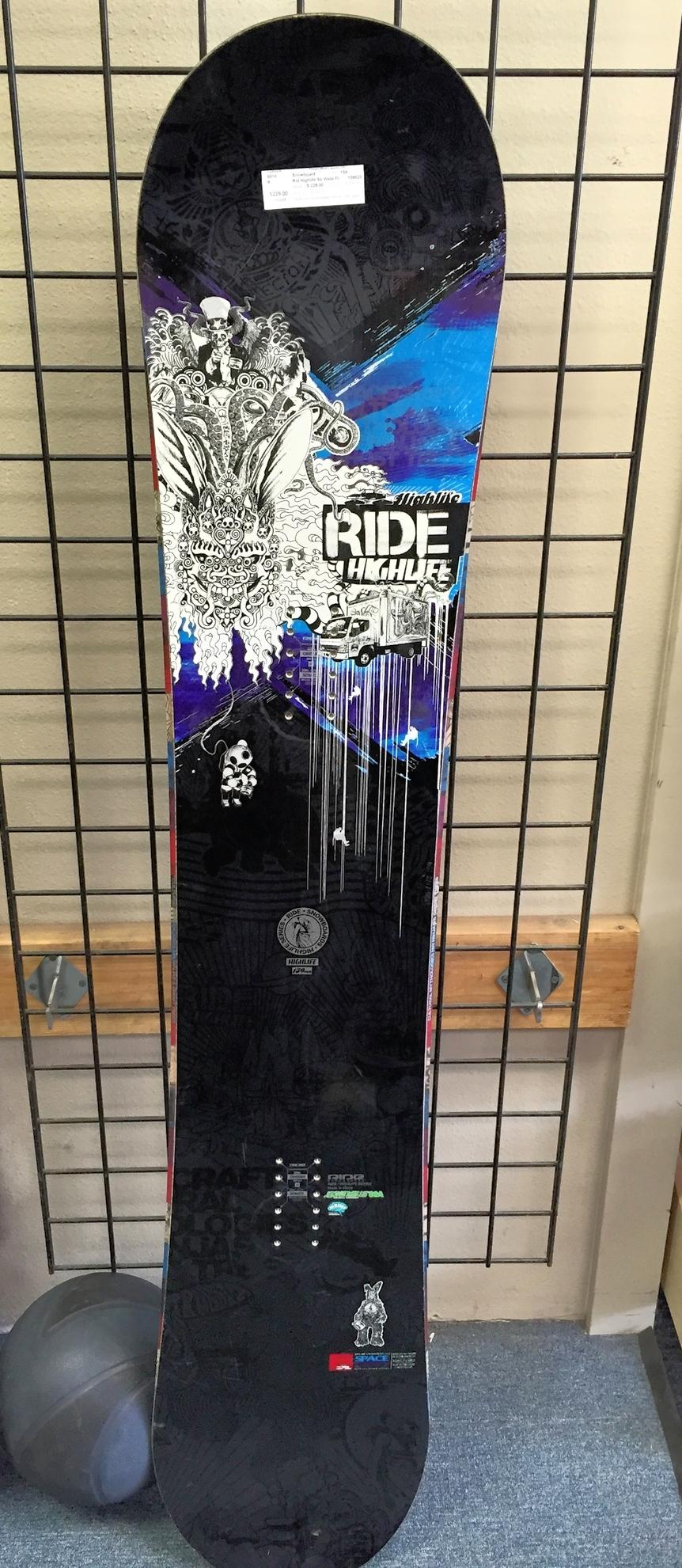 Ride Highlife Snowboard 159w - $183.20