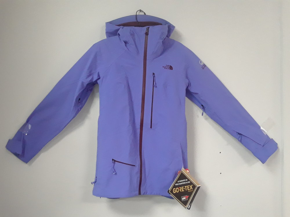We have shells for days!. Here's The North Face Steep Steep Series jacket with Gore-Tex Pro fabric. A $600 value that we have priced at $231. Size is a women's extra small.