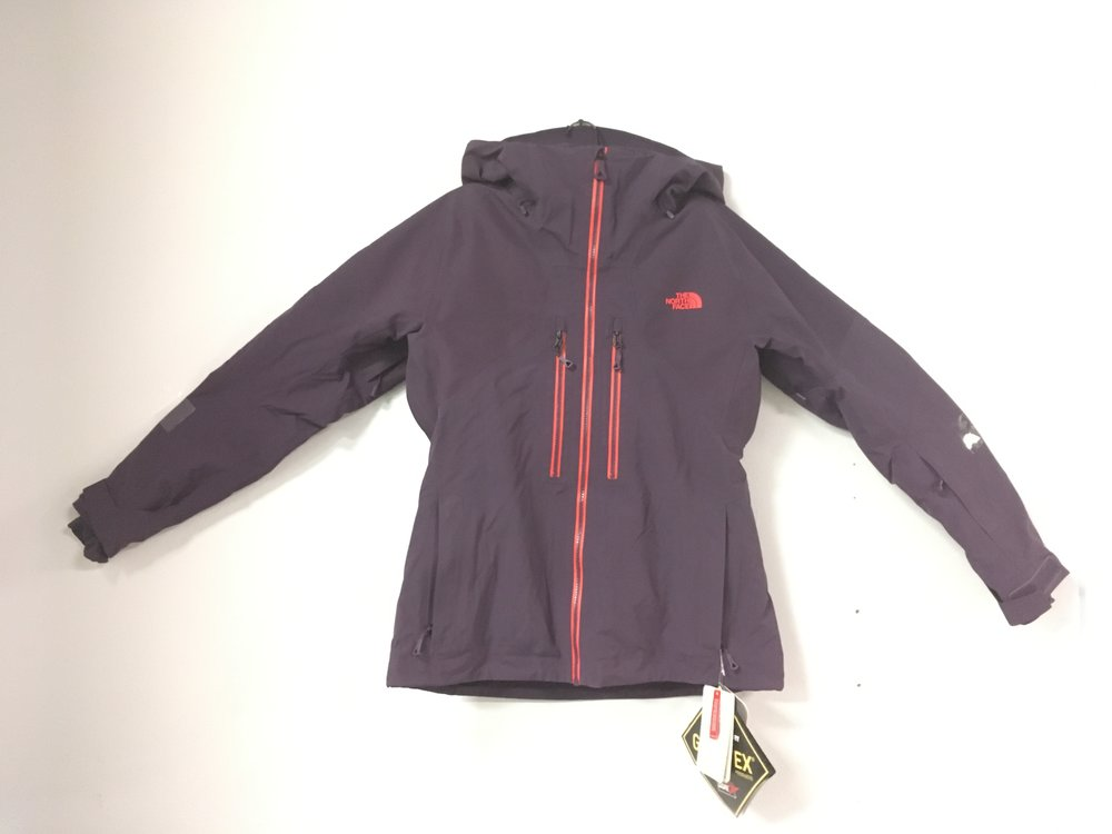 On the hill everyday? You need The North Face's Powder Guide jacket featuring Gore-Tex fabric and Primaloft insulation.This jacket retails for $500 but we have it priced $249! The size is a women's medium.