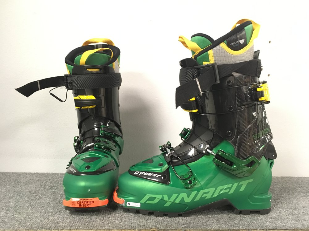 Dynafit hit the nail on the head with the Vulcan MS Alpine touring boot. Featuring all the lightweight features you would expect from a touring boot but without the sacrifice of a stiff flex. Other features include a 103mm last and a heat-moldable liner. Retail for the boots are listed at $1,000 but we can get you out and about for $500! The size is a 26.