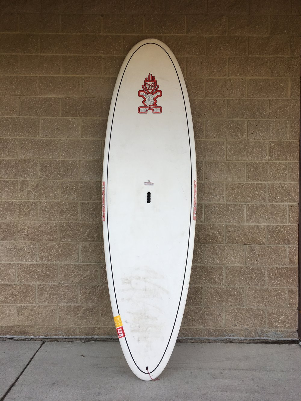 "SUP bro? Just received this board today measuring in at 10'x34""x4.1"". Retail value is listed up to $1,200 but we can get you walking on water for $400!"