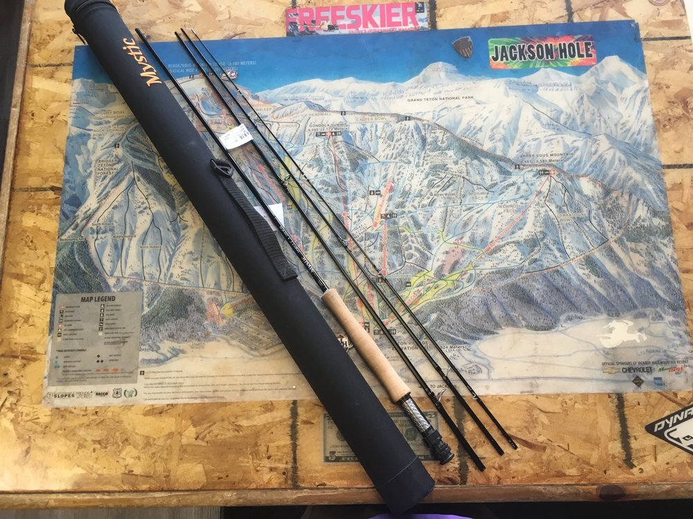The Mystic M-series uses a blend of the highest quality, multi-modulus, carbon fiber and a proprietary resin system making a rod that loads well into the mid sections of the blank while at the same time having a very quick recovery rate. Retail for the rod is listed at $500 and but we can get you on the water for $269! It's a 9ft 5wt.