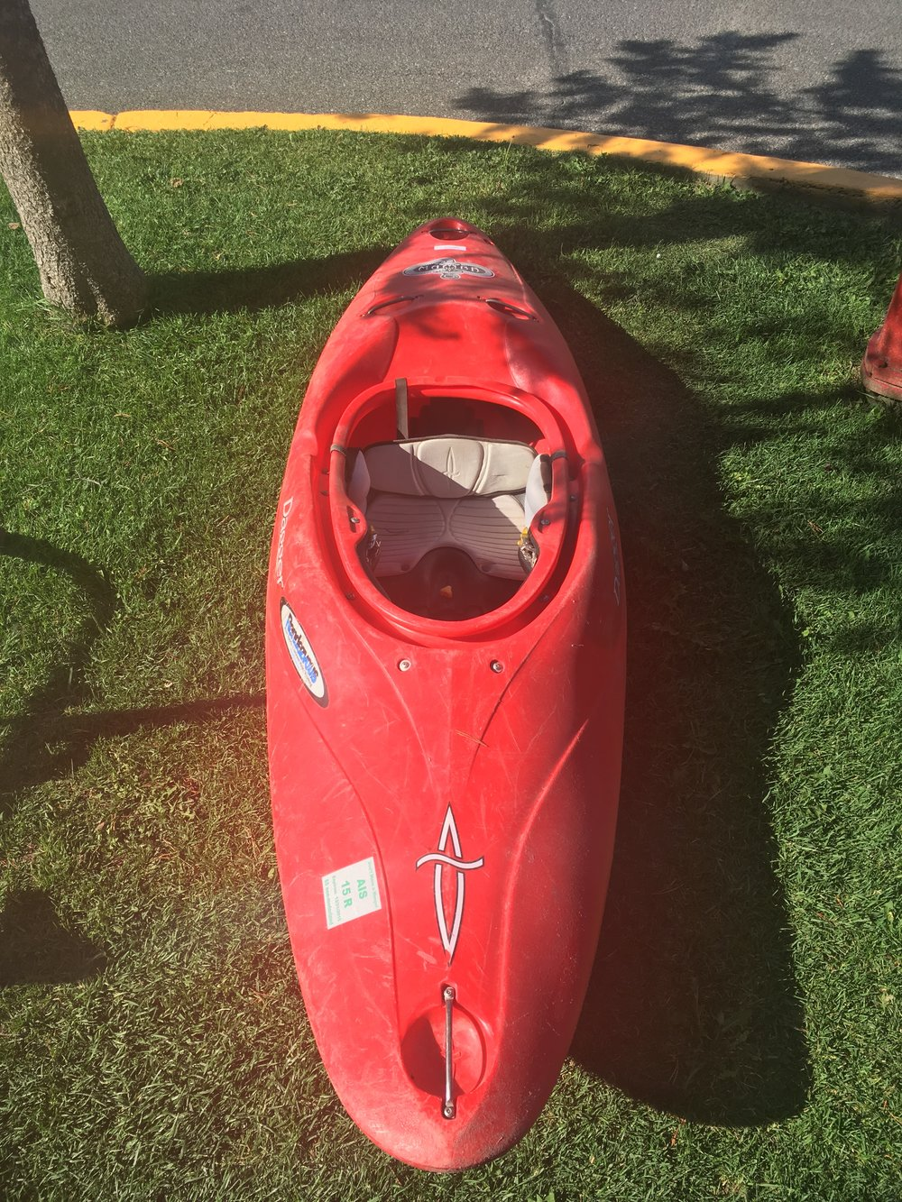 The Dagger Mamba 8.1 is great boat for the beginner kayaker looking for a predictable kayak that's easy to roll. Retail for the boat is listed around $1,200 but we can get you on the water for $179!