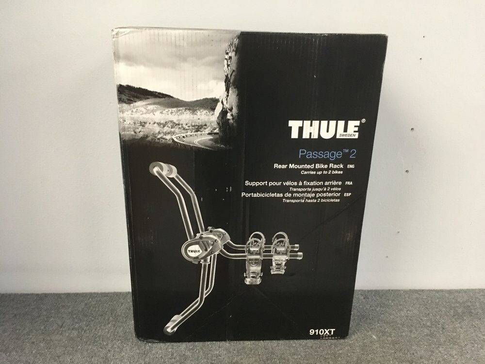 Keep your bike secure while traveling with this brand new Thule Passage 2! The rack can carry up to two bikes and the arms can fold away when not in use. We have the Passage priced at $149.