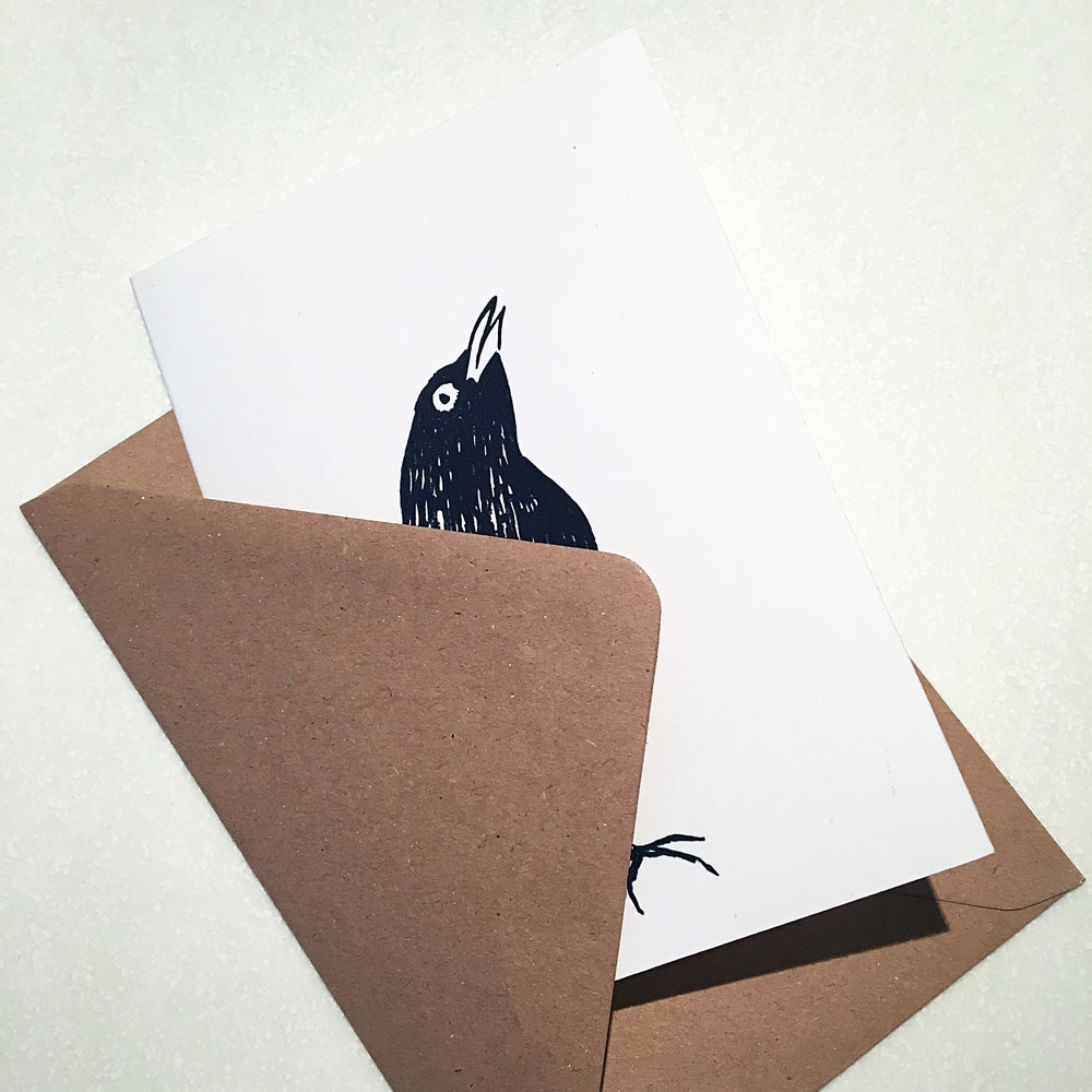 Jane Bain_Blackbird card_2_silkscreen print.jpg