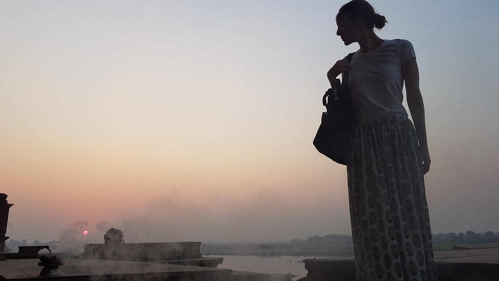 spiritual tours india - Vrindavan - dusk.jpg