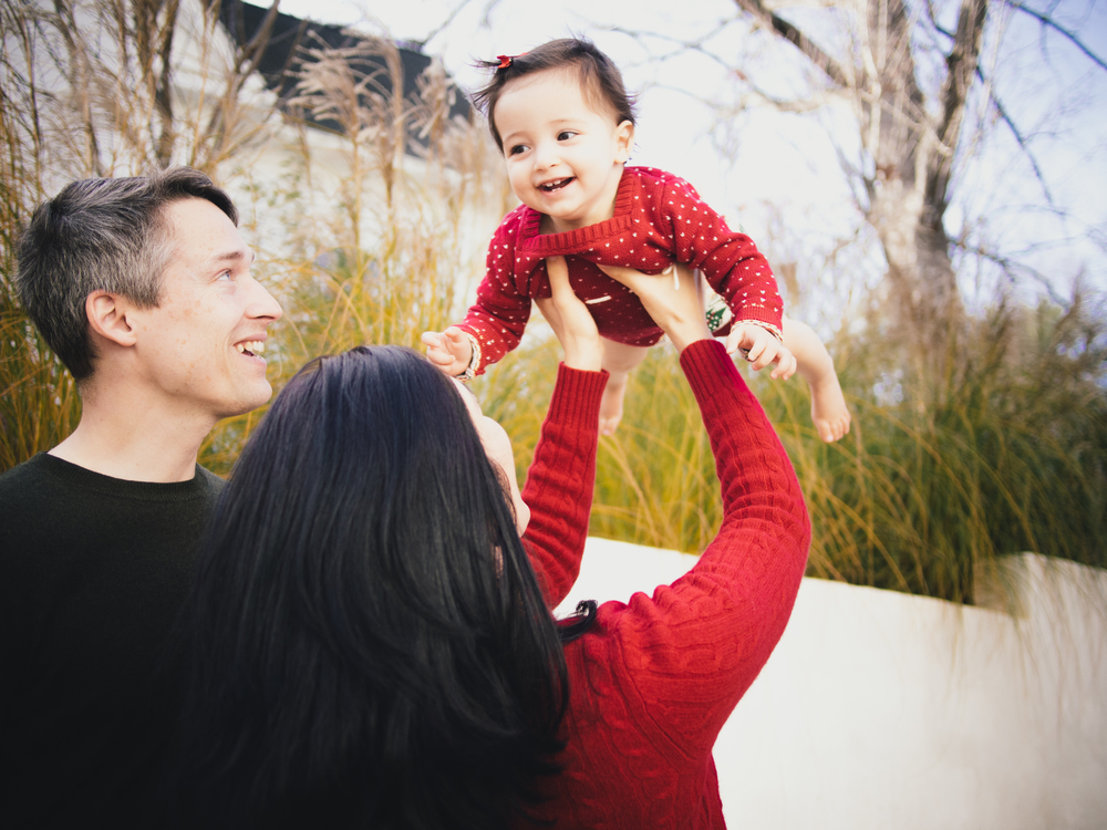 Nita + Thede's Holiday Family Shoot | Durham, NC | Merritt Chesson Photography