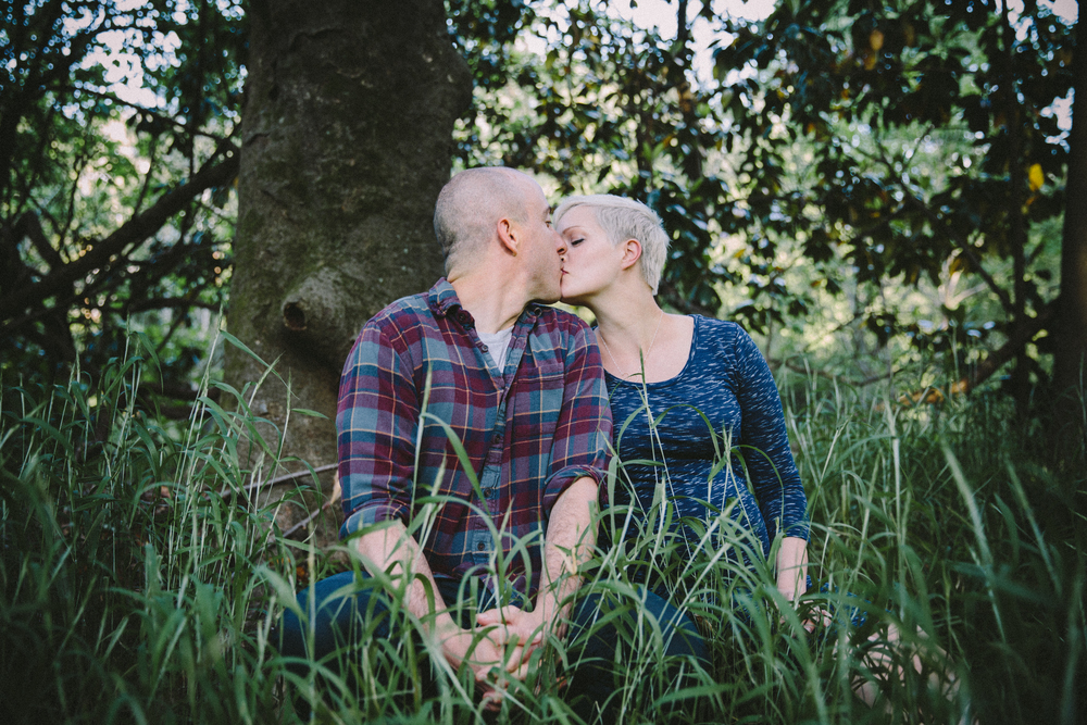Jayna + Louis: maternity session in Forest Hills Park | Durham, NC | Merritt Chesson Photography