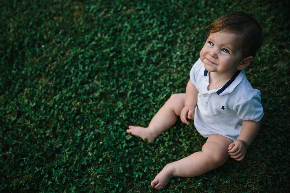 Micah: 7 months | baby sessions | Durham, NC | Merritt Chesson Photography