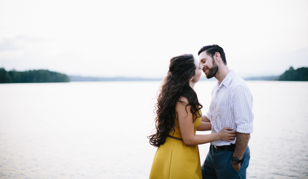 Kaitlin + Hercules: engagement session | Lake Robinson, SC | Merritt Chesson Photography