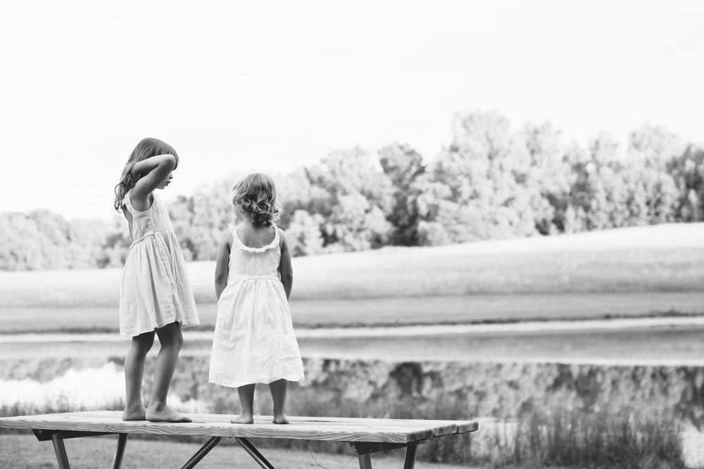 Family Session at Blackwood Farm Park in Chapel Hill, NC | family photographer | Merritt Chesson Photography