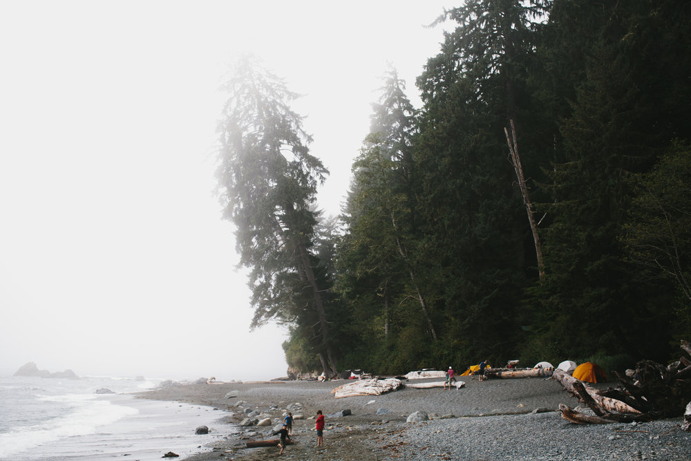 Juan de Fuca Trail, Sambrio Beach | lifestyle + travel photography | Merritt Chesson Photography