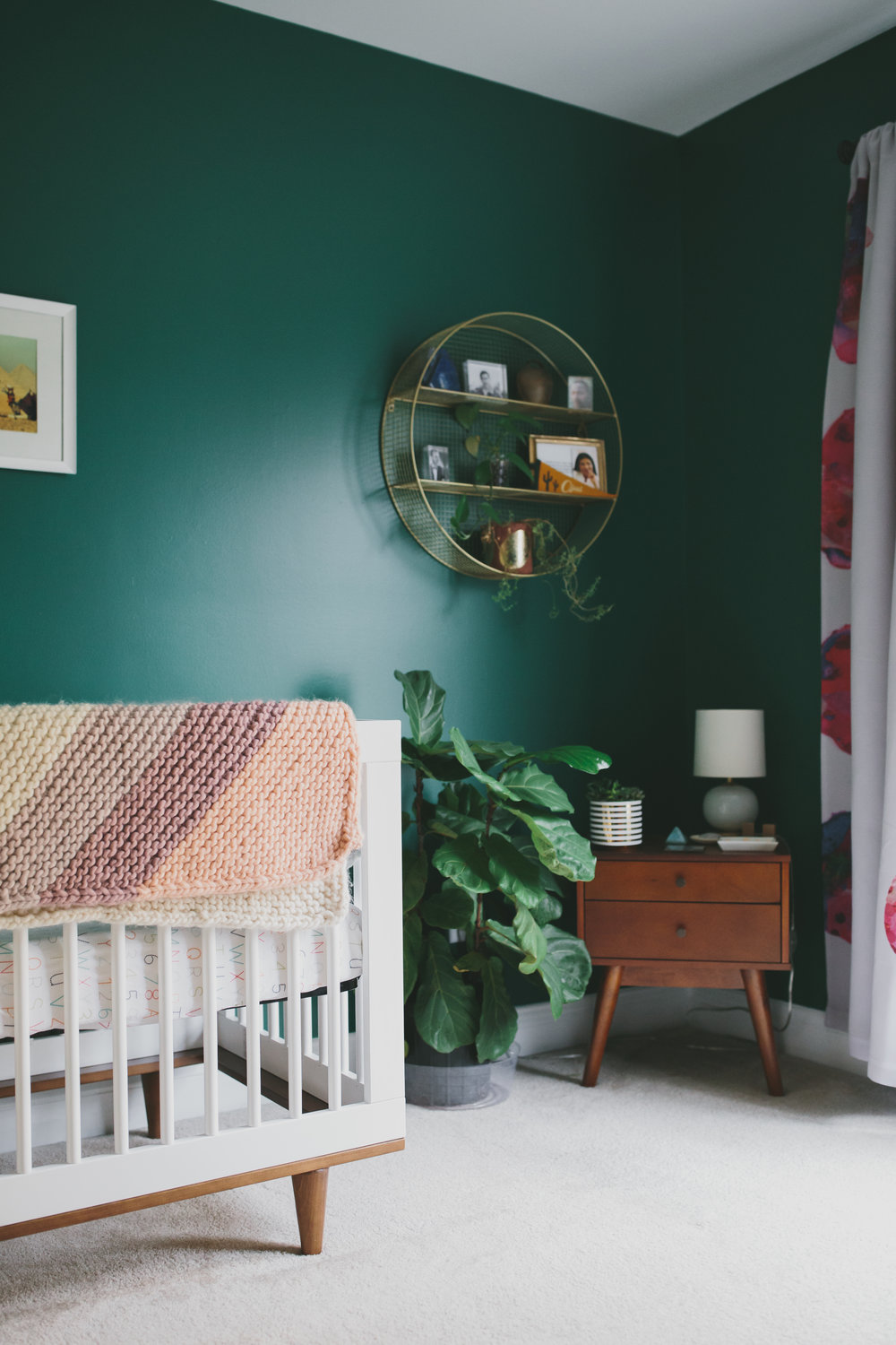midcentury modern nursery | newborn photographer | Durham, NC | Merritt Chesson Photography