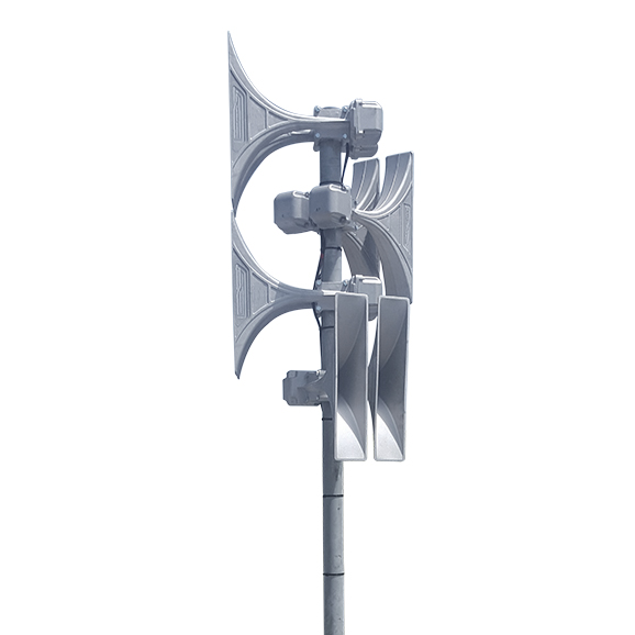 Alertus Outdoor Solutions can easily integrate with many HPSA towers from ATI, Whelen, Federal Signal, American Signal, Cooper Waves, and more.