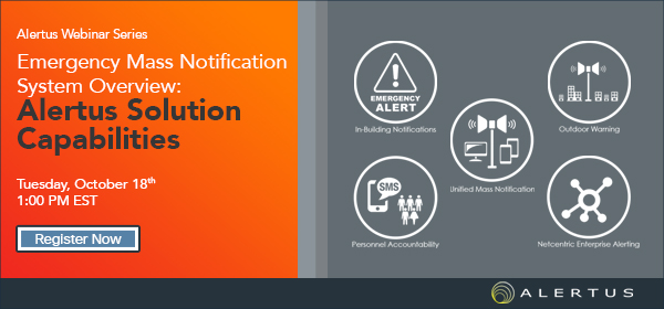 Emergency Mass Notification System Overview Webinar