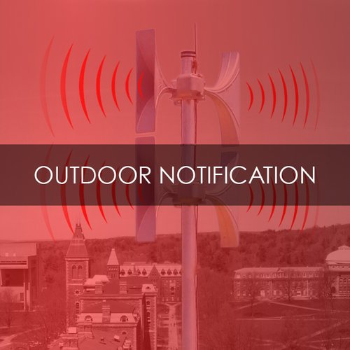 Outdoor Notification