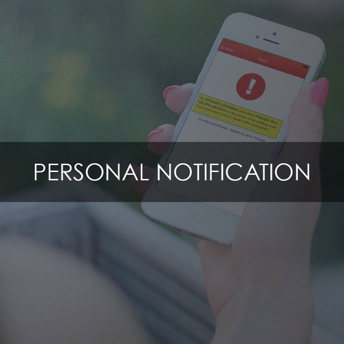 Personal Notification