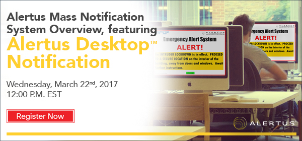 Webinar Desktop Notification