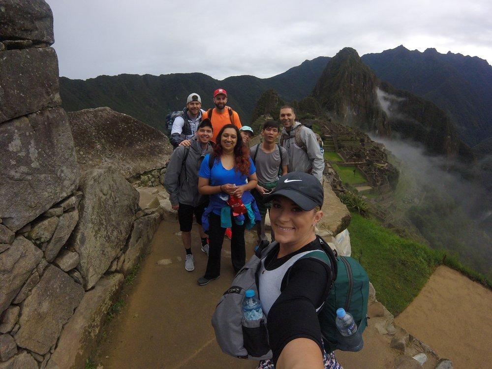 "Everybody say ""Machu Picchu!"""
