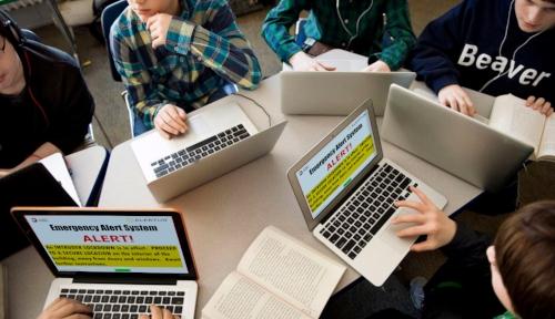 The Alertus Desktop Donation Initiative helps schools alert students during emergencies.