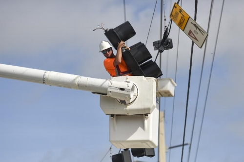 Crews are working to restore power to millions of Floridians.
