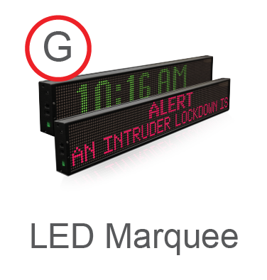 Copy of LED Marquee