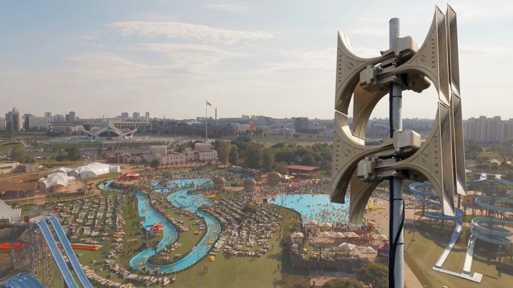 Amusement Park Mass Notification